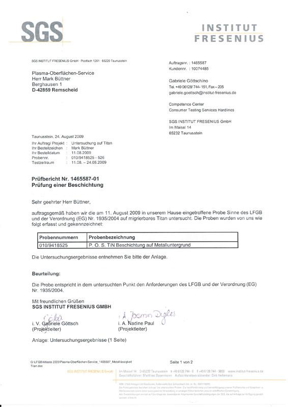 QM-Zertifizierung   POS Beschichtungen